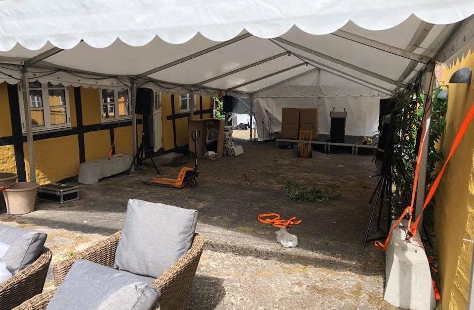 Telt udlejning til Folkemødet på Bornholm