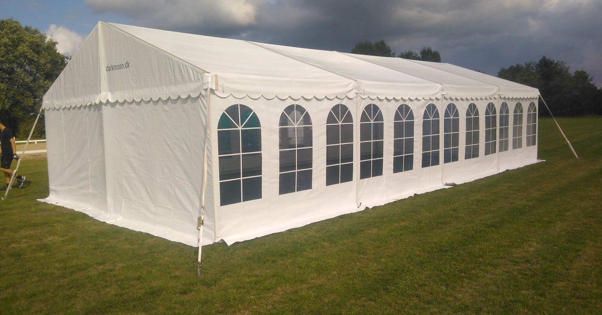Praktisk omkring leje af telte